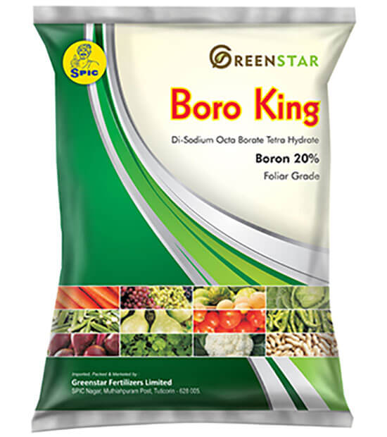 SPIC Boro King: Di-Sodium Octoborate Tetrahydrate