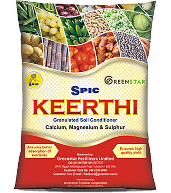 SPIC Keerthi: C M S: Granulated Soil Conditioner