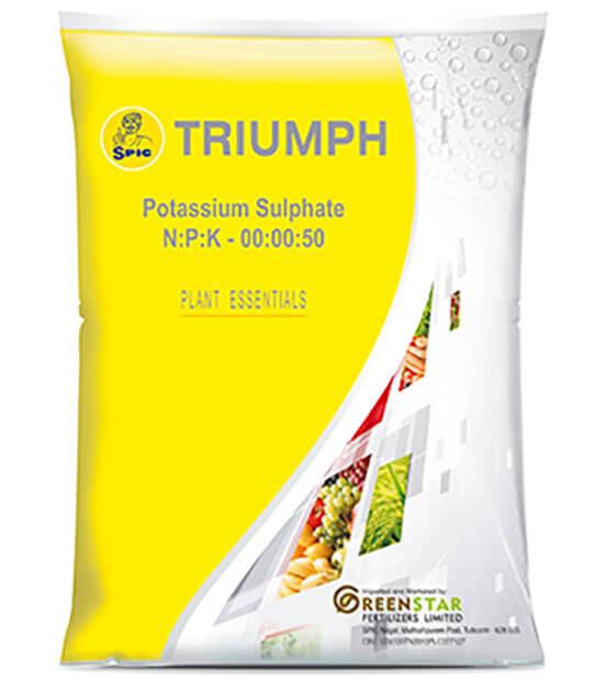 SPIC Triumph : Sulphate of Potash (NPK 00:00:50)