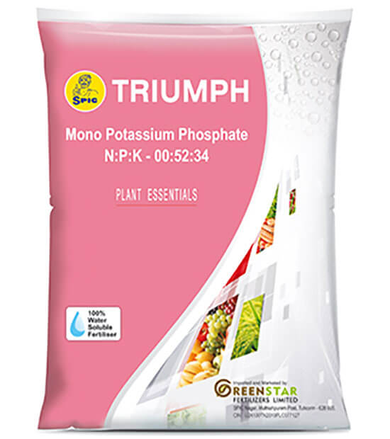 SPIC Triumph : Mono Potassium Phosphate (NPK 00:52:34)