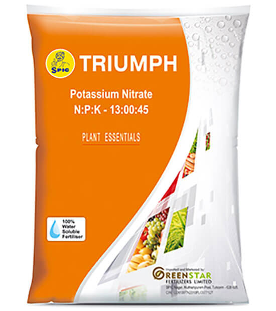 SPIC Triumph : Potassium Nitrate (NPK 13:00:45)