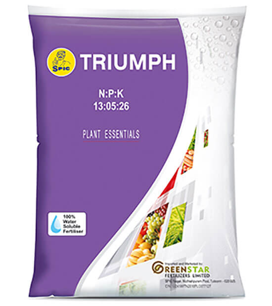SPIC Triumph : (NPK 13:05:26)