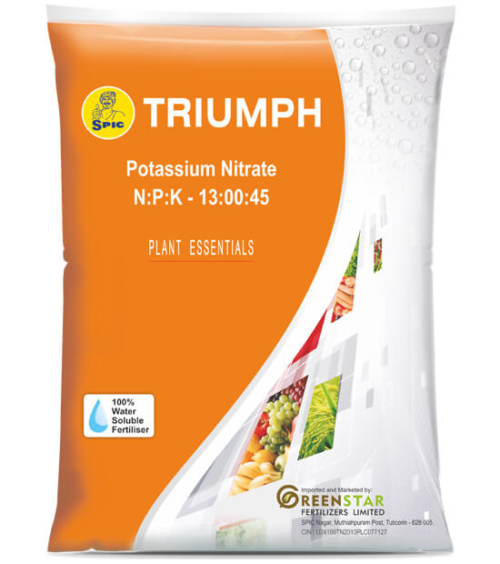 SPIC Triumph (NPK 13 00 45) Pottassium Nitrate